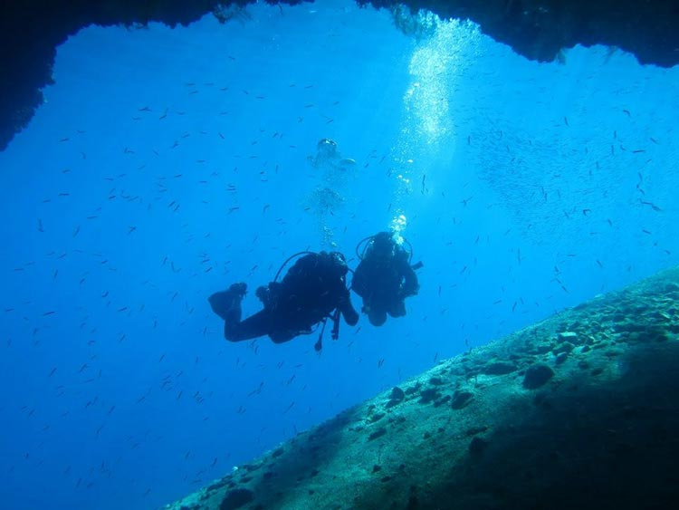 Dive holidays in spain