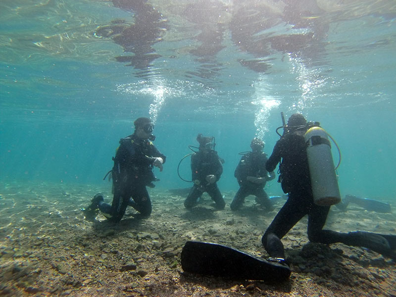 Learn to be a scuba diver! and see more of this beautiful world.